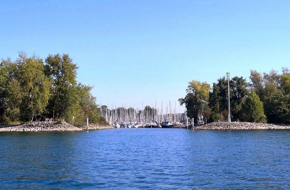 Hafeneinfahrt Gohren